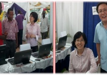 7th University at exhibition