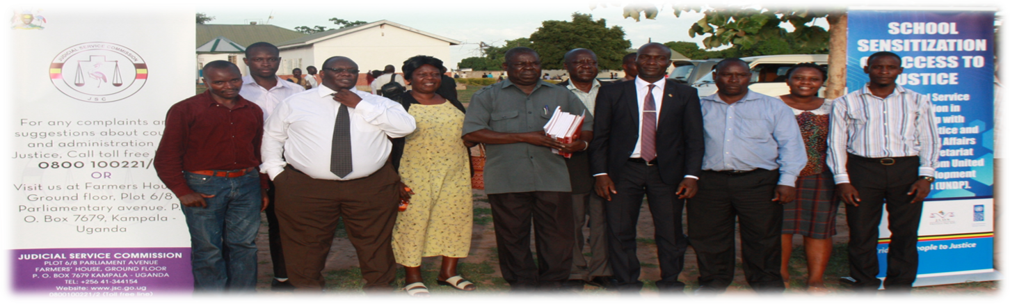 Judicial Service commision Unleashes info on legal issuse at Kumi Univeristy