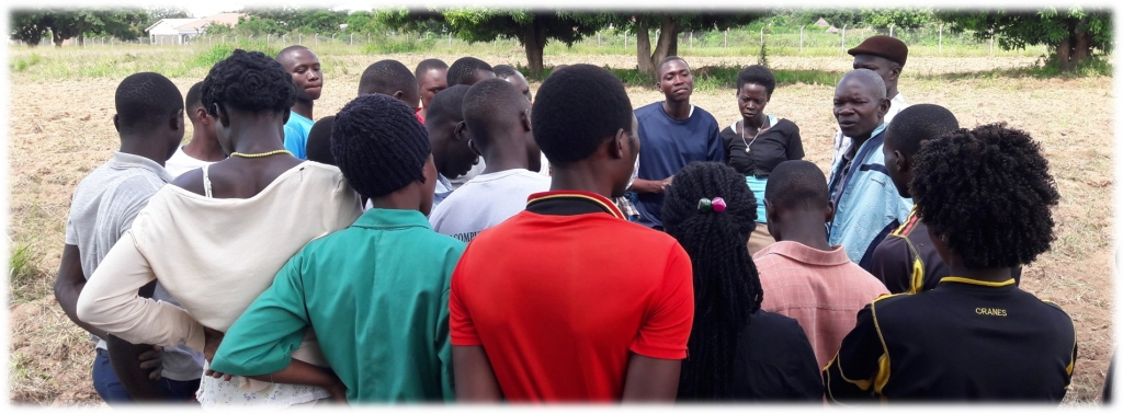 Students under instructions of their Lecturer