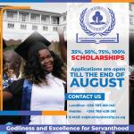 Kumi University Scholarship Application
